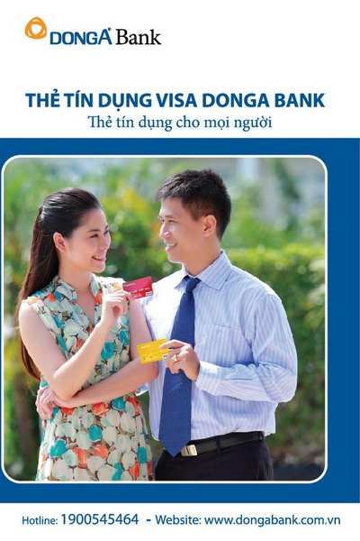DongA Bank có mức lãi suất thẻ tín dụng khá thấp