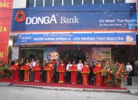 Grand opening of DongA Bank's Thai Nguyen and Nam Dinh branches