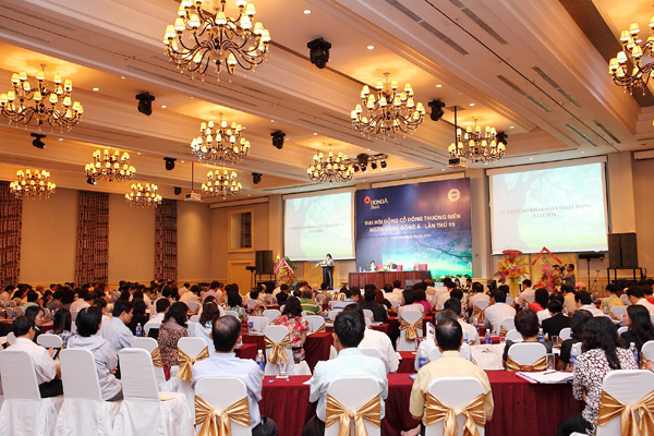 DongA Bank Organizing the 19th annual general meeting of Shareholders in 2010