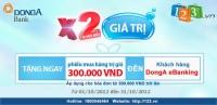 Nhận ngay phiếu quà tặng khi mua hàng tại 123.vn