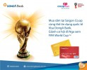 Mua sắm cùng thẻ Visa DongA Bank. Săn vé đi Nga xem FIFA World Cup