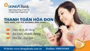 DongA eBanking mở rộng đối tác liên kết dịch vụ Thanh toán hóa đơn