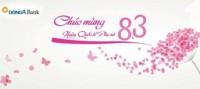 DongA Bank chúc mừng ngày Quốc tế Phụ nữ 8-3