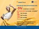 Giảm giá thêm tối đa 15% trên hóa đơn khi mua sản phẩm tại FASHION & FREEDOM dành cho chủ thẻ DongA Bank (đến hết 31/12/2021)