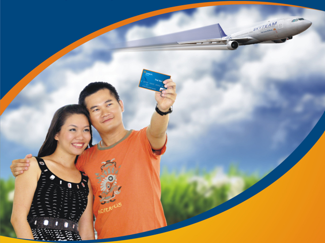 Purchasing of  Vietnam Airlines ticket easier with DongA Multi-functional Card