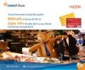Ưu đãi miễn phí sử dụng 3G/4G và giảm 10% khi đặt dịch vụ qua KLOOK với thẻ Visa DongA Bank