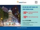Giảm giá từ 10%-30% trên hóa đơn khi sử dụng dịch vụ tại Khách sạn Đồng Khởi dành cho chủ thẻ DongA Bank (đến hết 31/12/2020)