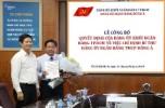 Ông Nguyễn Thanh Tùng giữ cương vị Bí thư Đảng ủy DongA Bank