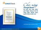 Chúc mừng DongA Bank 6 năm liên tiếp nhân giải thưởng Ngân hàng có Tỷ lệ công điện thanh toán quốc tế đạt chuẩn cao (STP Award)