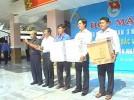 Trao tặng 2 giàn máy vi tính cho xã Đoàn tỉnh Bến Tre