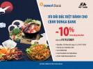 Giảm giá từ 10% trên hóa đơn khi sử dụng dịch vụ tại Nhà Hàng 5A Phú Nhuận dành cho chủ thẻ DongA Bank (đến hết 31/12/2021)