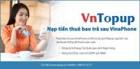 Thanh toán cho thuê bao trả sau VinaPhone qua dịch vụ VnTopup  của DongA eBanking