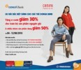 Ưu đãi dành cho chủ thẻ DongA Bank tại Canifa fashion
