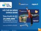 Ngày không dùng tiền mặt cùng thẻ ghi nợ nội địa DongA Bank