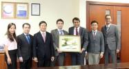 DongA Bank đón tiếp đoàn lãnh đạo cấp cao từ MoneyGram