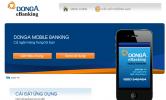 DongA Mobile Banking phiên bản mới ngày 02/04/2010-Chức năng kết nối GPRS/ Wifi cùng các tiện ích mới