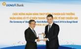 DongA Bank tiếp tục nhận giải thưởng về hoạt động thanh toán quốc tế