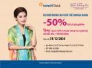 Giảm giá mua sắm tại THẾ GIỚI KHĂN CHOÀNG CỔ dành cho chủ thẻ DongA Bank (đến hết ngày 31/12/2020)