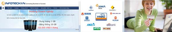 Dịch vụ thanh toán trực tiếp trên Infotech.vn với tài khoản thẻ Đa năng Đông Á