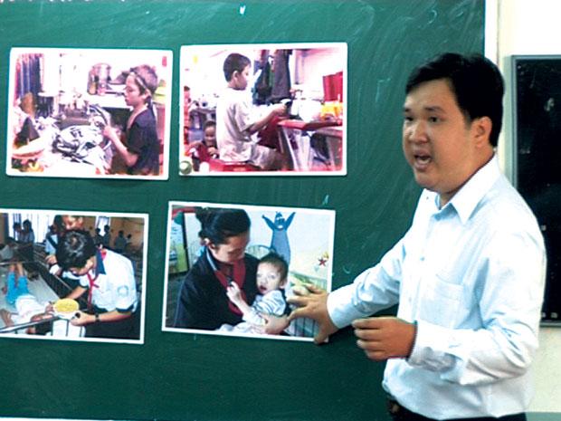 Người thầy có tài kể chuyện