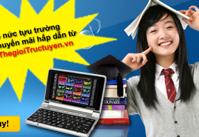 Náo nức tựu trường cùng khuyến mãi hấp dẫn từ Thegioitructuyen.vn