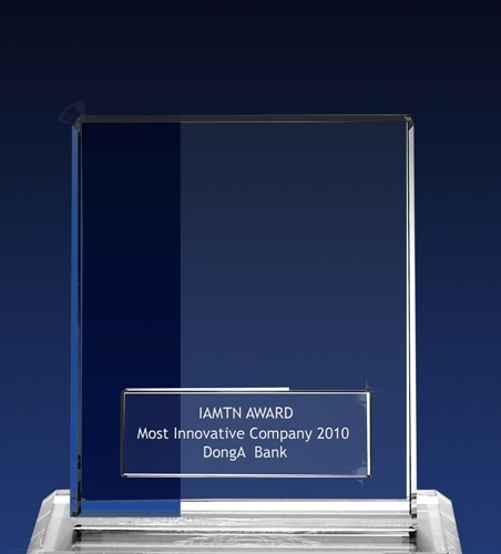 "DongA Money Transfer Company was granted with  ""Most Innovative Company Award 2010"""