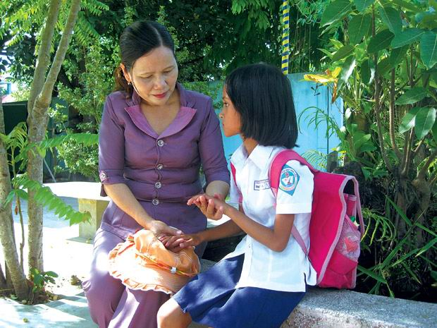 Chuyện về tấm lòng cô giáo