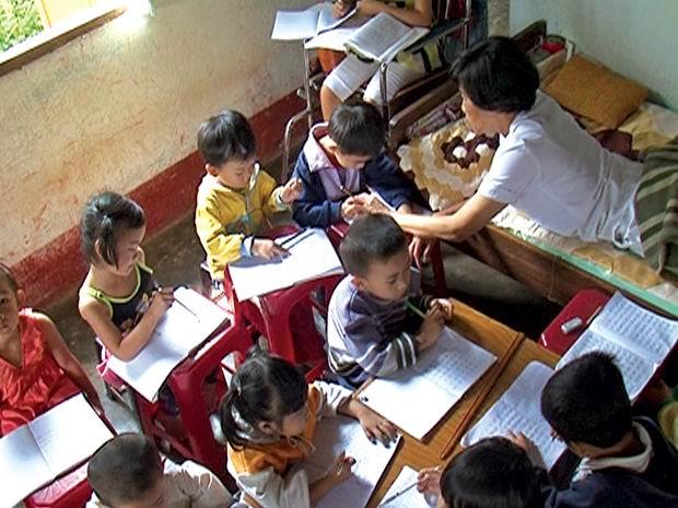Lớp học không bảng đen, phấn trắng
